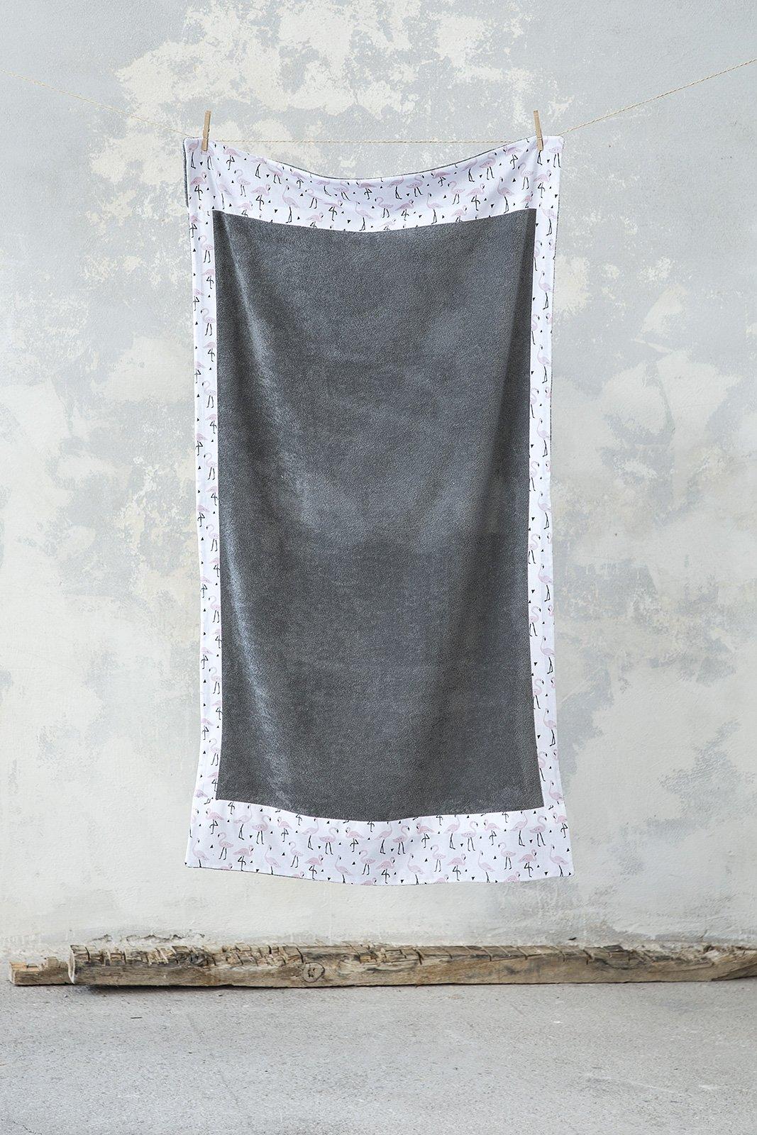 Πετσέτα Θαλάσσης 90×160 – Nima Flamingo