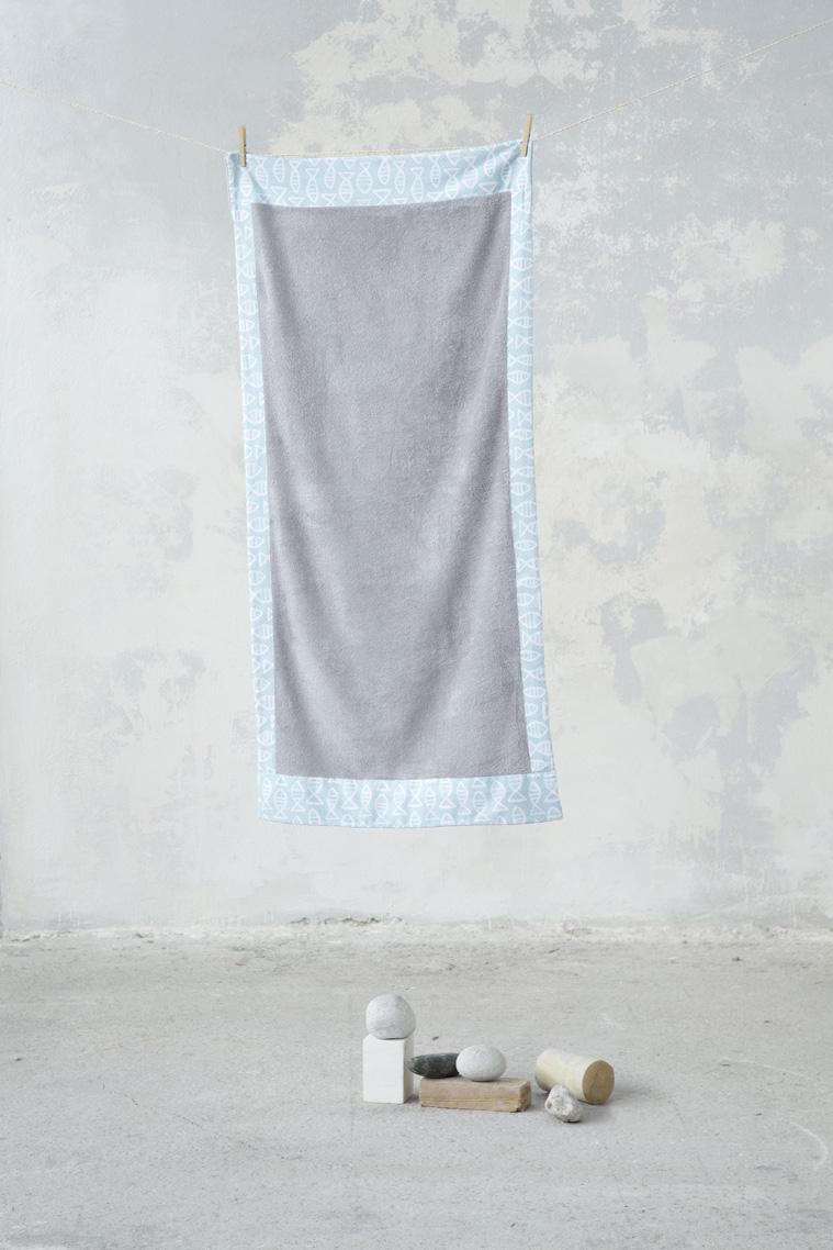 Πετσέτα Θαλάσσης 70×140 – Nima Fishy