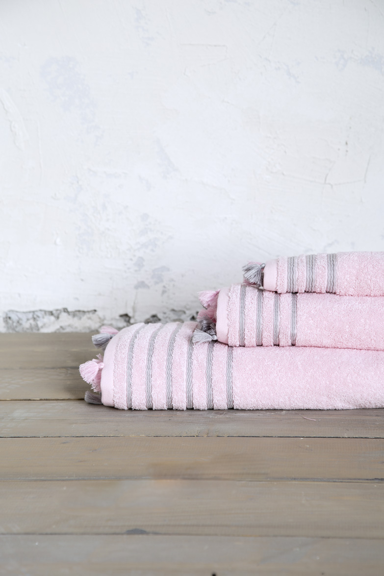 Πετσέτα Χεριών 30×50 – Nima Demure Pink