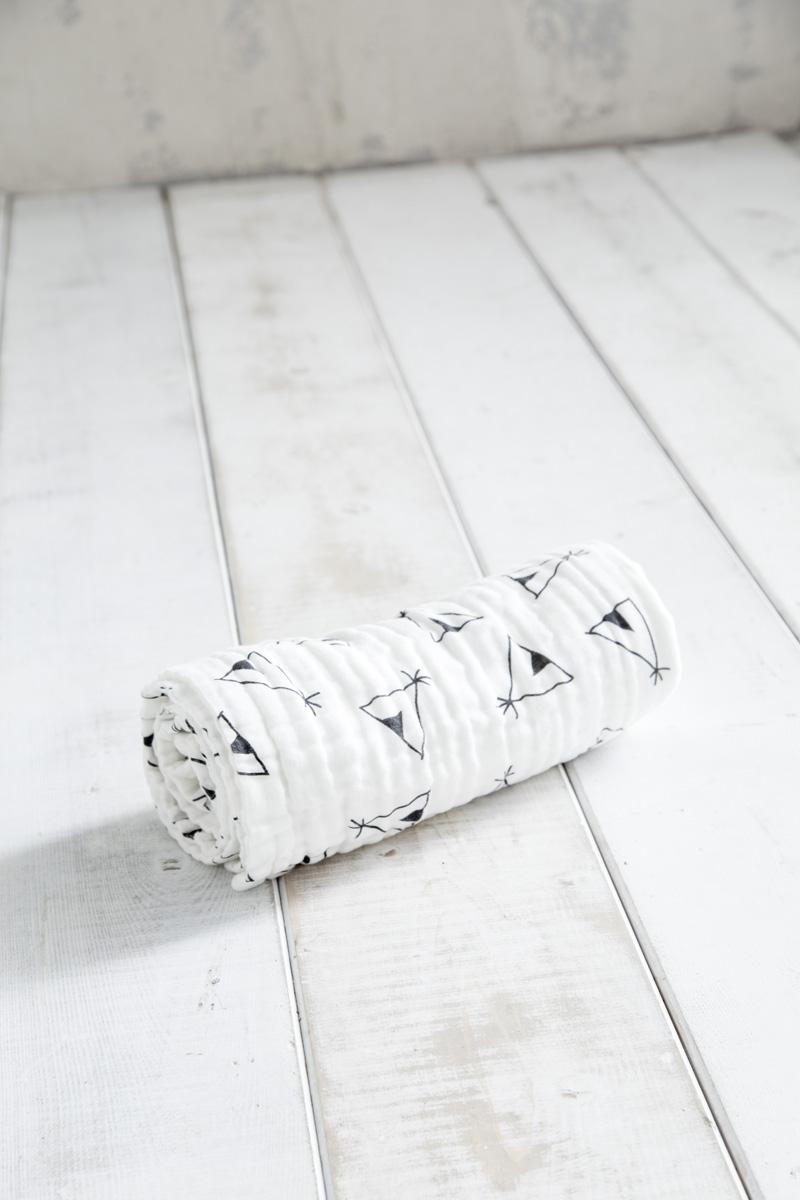 Κουβέρτα Λίκνου 75×110 – Nima Tippie