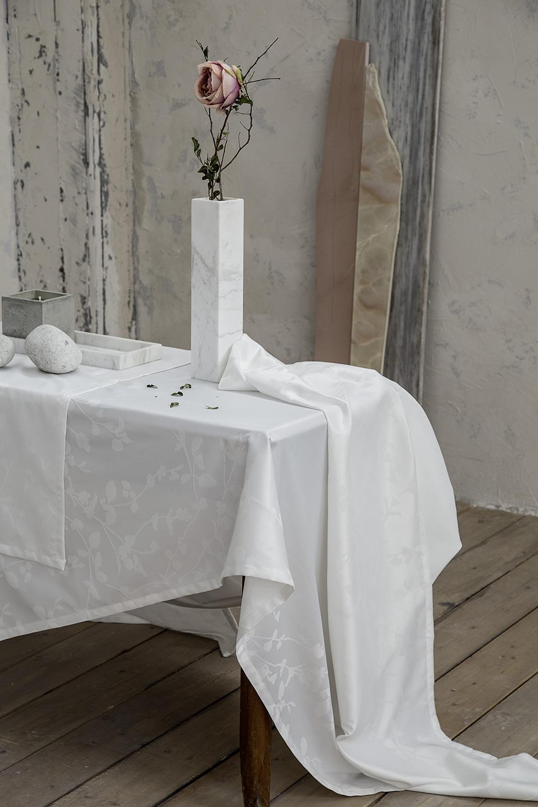 Τραπεζομάντηλο 165×310 – Nima Ambrosia Off White