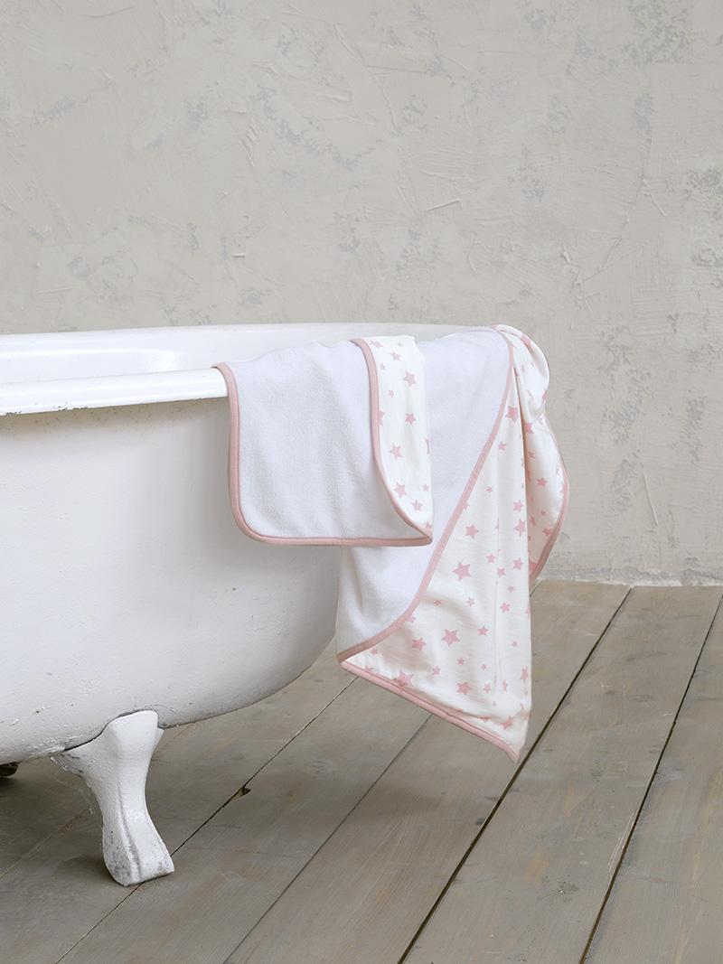 Βρεφικές Πετσέτες (Σετ 2 Τμχ) Nima Giggle Pink