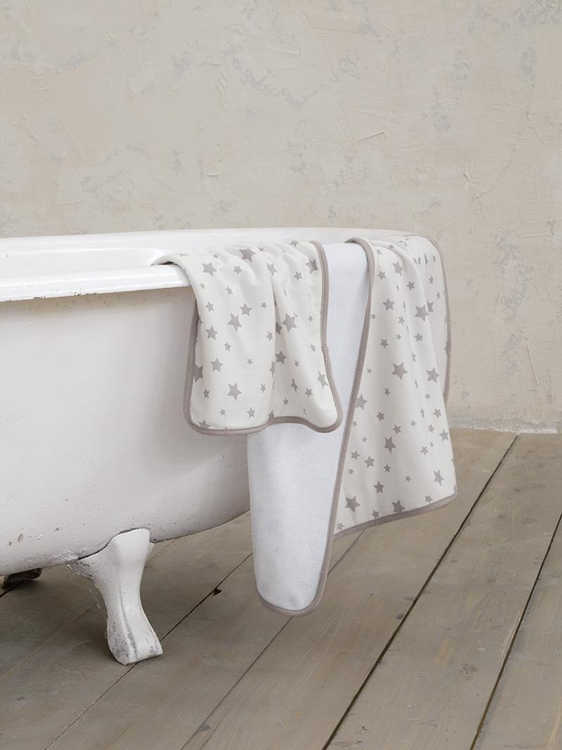 Βρεφικές Πετσέτες (Σετ 2 Τμχ) Nima Giggle Gray