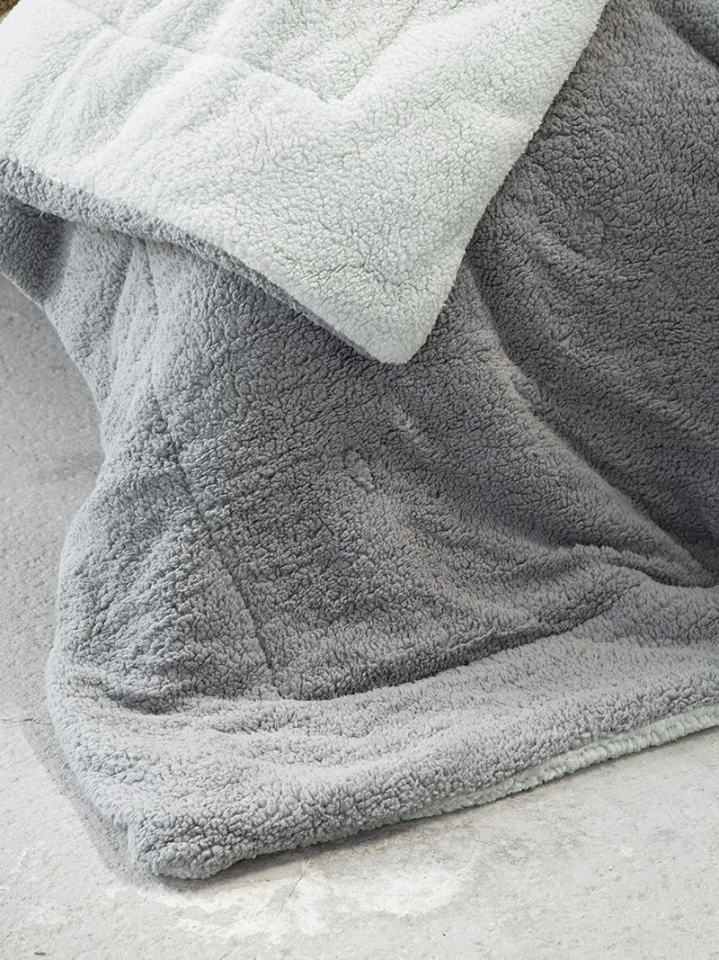 Κουβερτοπάπλωμα King Size 240x260 Nima Melt Mint/Dark Gray (240x260)