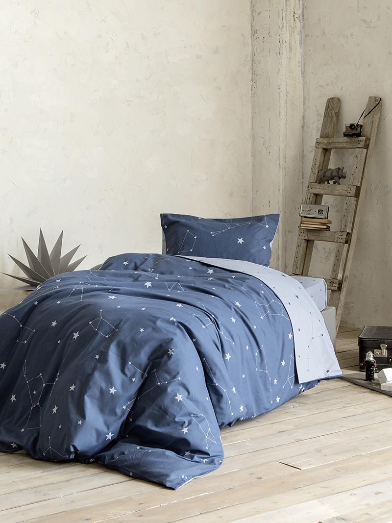 Σεντόνια Μονά (Σετ) 100×200+30 Nima Milkyway Με λάστιχο