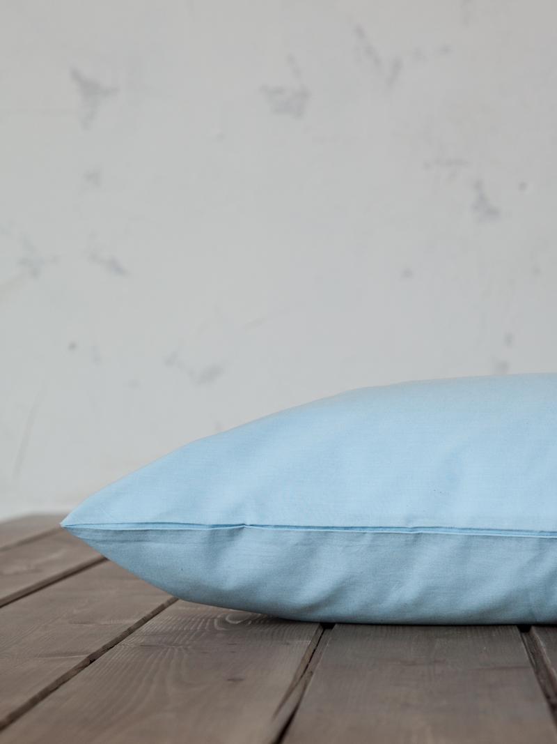 Σεντόνι Μεμονωμένο King Size 180×200+32 Nima Unicolors Sky Blue Με λάστιχο