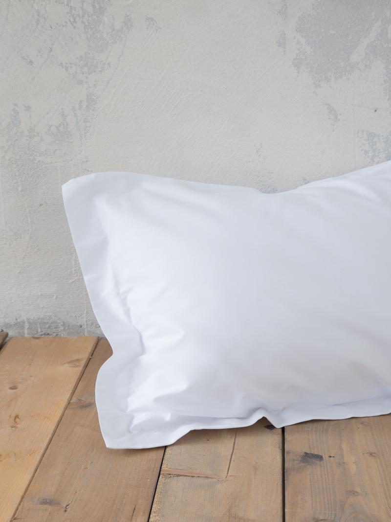 Σεντόνι Μεμονωμένο King Size 180×200+34 Nima Superior White Με λάστιχο