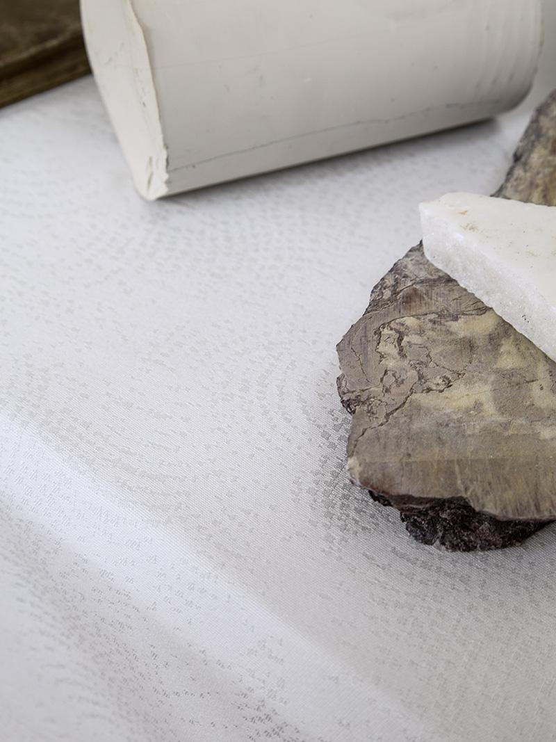Τραπεζομάντηλο 165×265 Nima Allium Off White