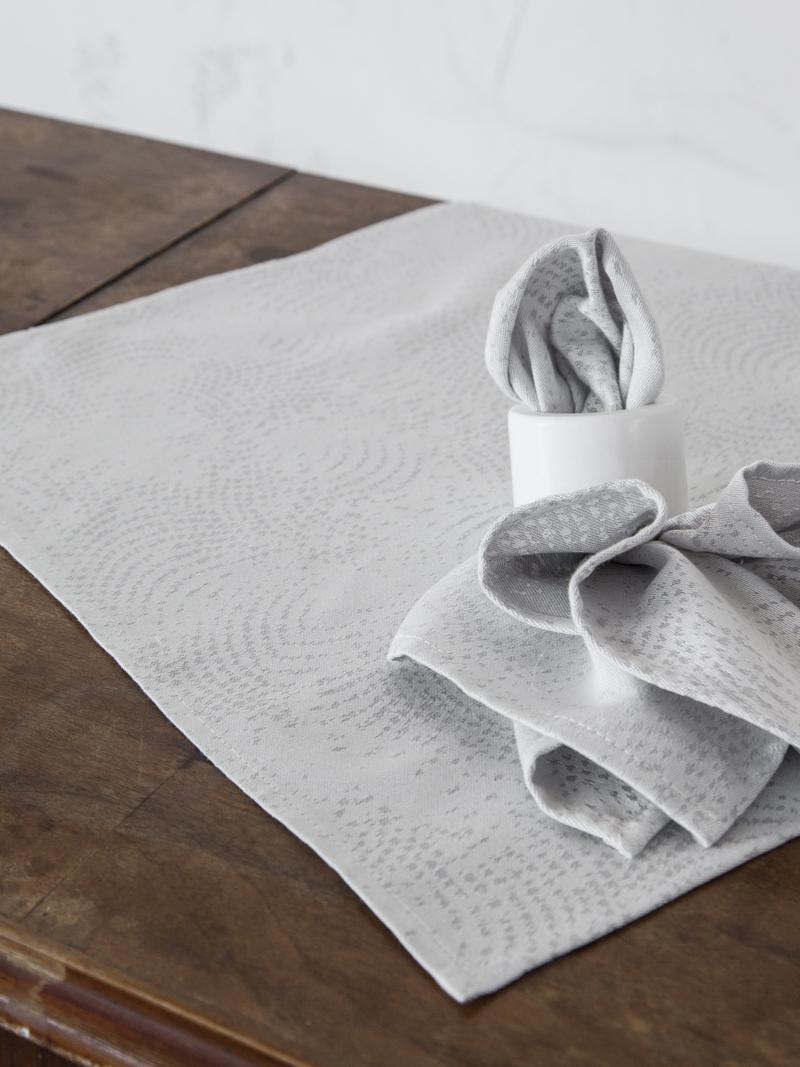 Πετσέτες Φαγητού (Σετ 2 Τμχ) Nima Allium Gray