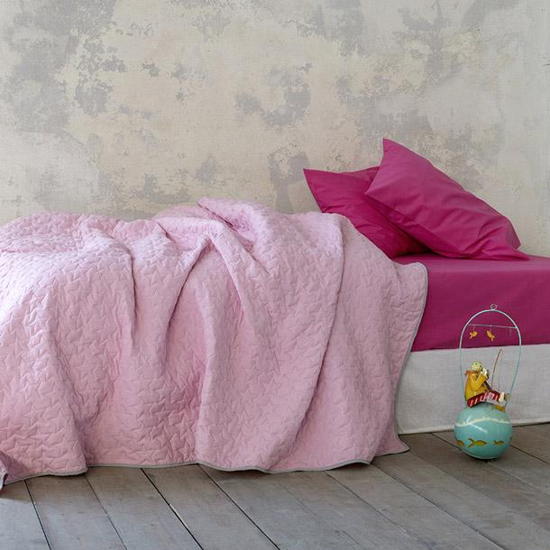 Κουβερλί Μονό 160X240 Nima Tuggle Pink