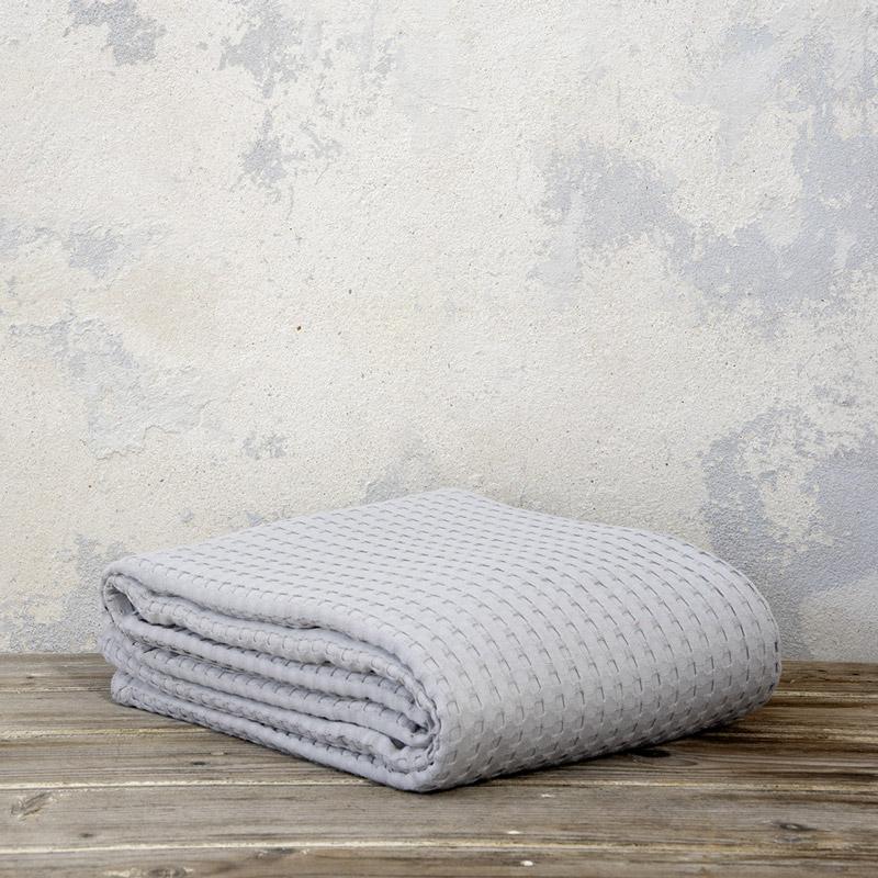 Κουβέρτα Πικέ Μονή 160X240 Nima Habit Earth Gray