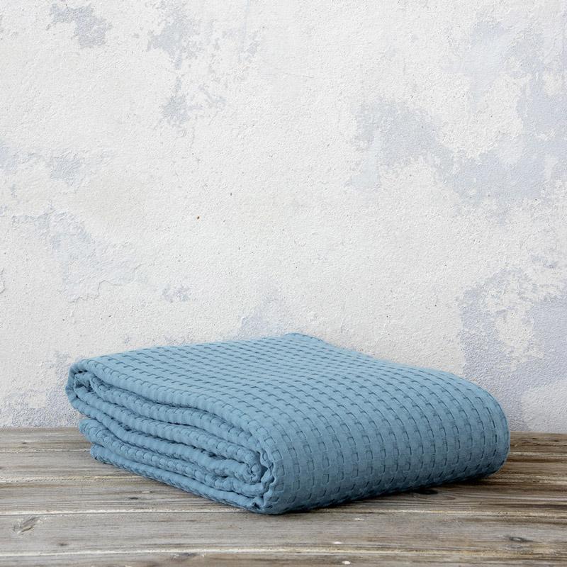 Κουβέρτα Πικέ Μονή 160X240 Nima Habit Petrol