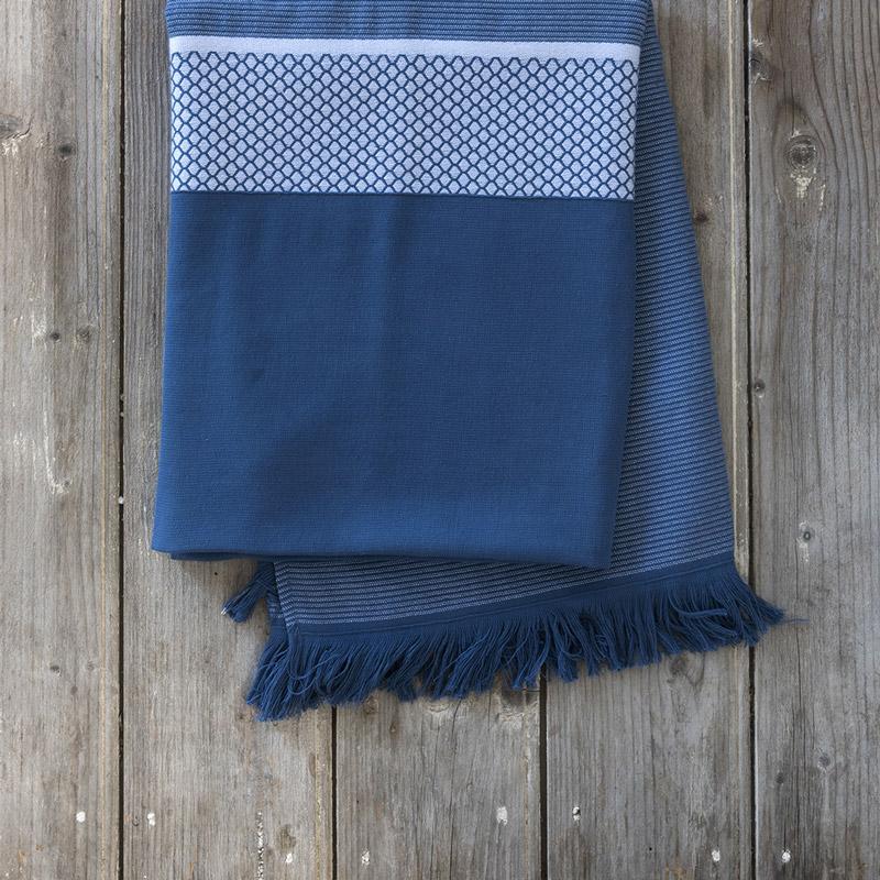 Πετσέτα Θαλάσσης 90X160 Nima Amalea Dark Blue