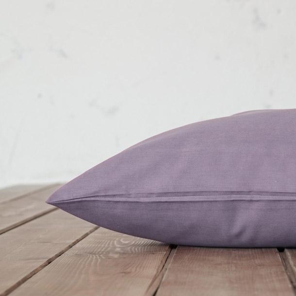 Μαξιλαροθήκες Ζεύγος 52×72 Nima Unicolors Flint Gray