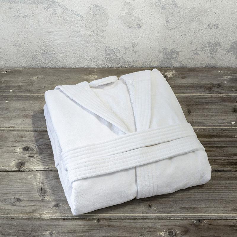 Μπουρνούζι με κουκούλα Nima Zen – Small – White
