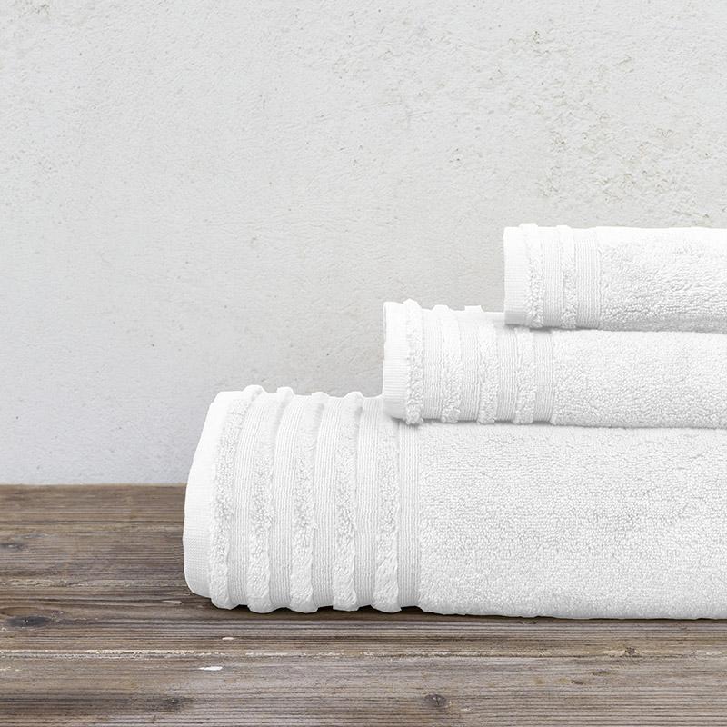 Πετσέτα Μπάνιου 90×150 Nima Vista White