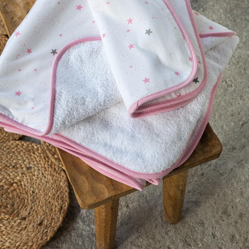 Παιδικές Πετσέτες (Σετ 2 Τμχ) Nima Nene Pink