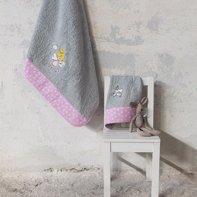Παιδικές Πετσέτες (Σετ 2 Τμχ) Nima Fairy Tailor
