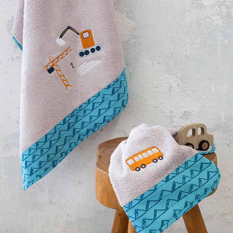 Παιδικές Πετσέτες (Σετ 2 Τμχ) Nima Kaboodle