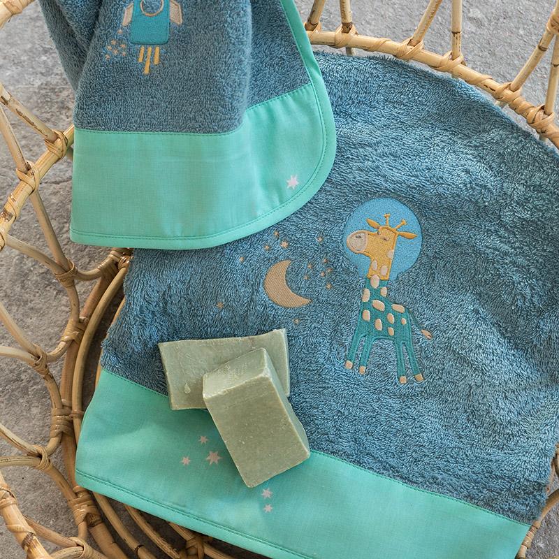Παιδικές Πετσέτες (Σετ 2 Τμχ) Nima Starzone