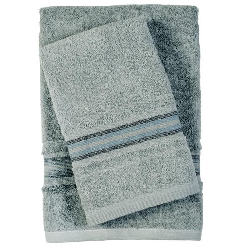 Πετσέτες Μπάνιου (Σετ 3 Τμχ) Das Home Soft Best 0400 Γκρι