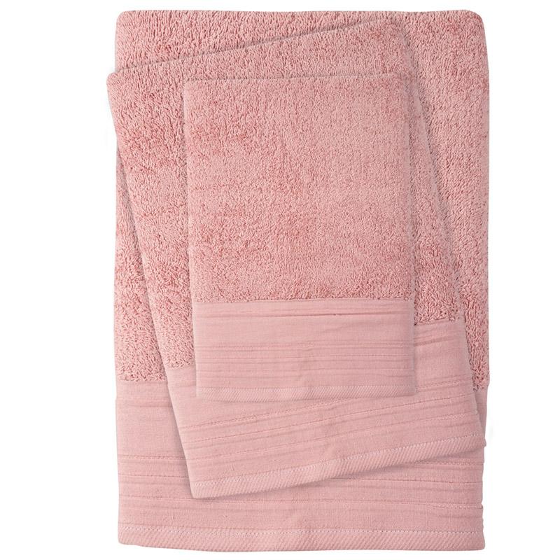 Πετσέτες Μπάνιου (Σετ 3 Τμχ) Das Home Soft Best 0431
