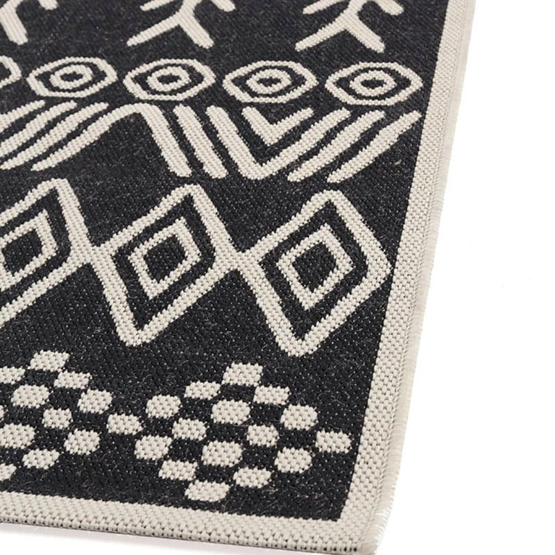 Χαλί Σαλονιού All Season Royal Carpet Flox 140×200 – 539 Black