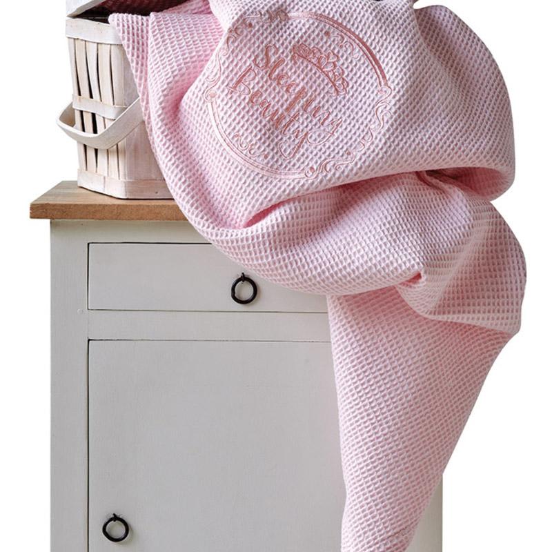 Κουβέρτα Πικέ Κούνιας 100X140 Kentia Serenity Beauty Ροζ