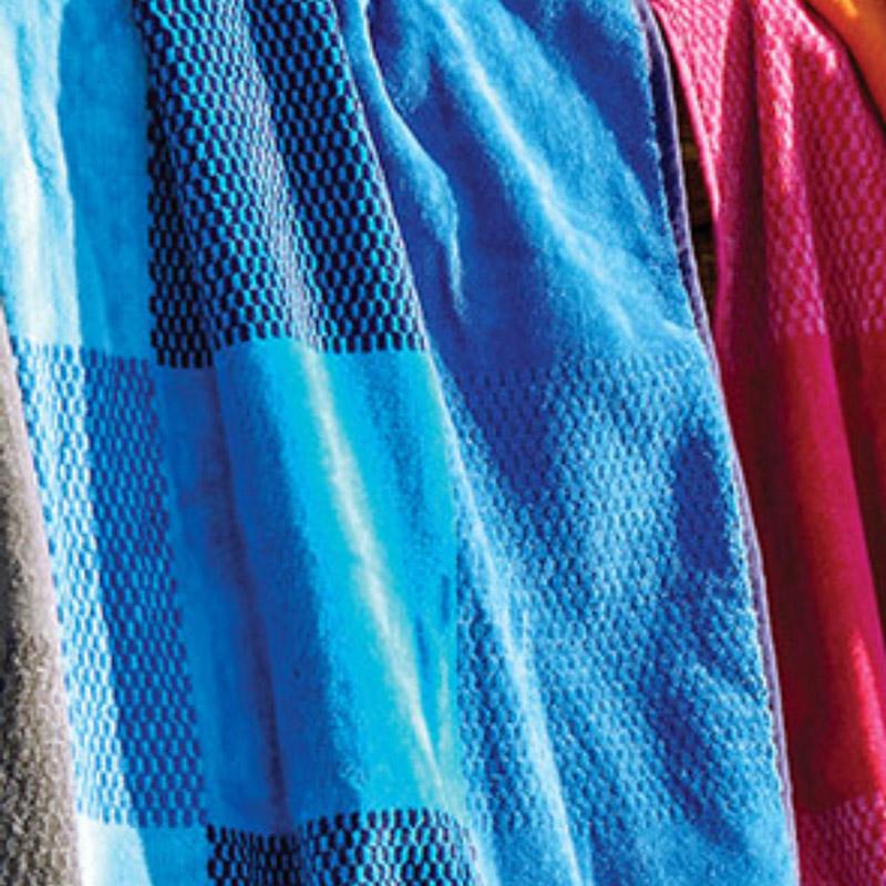 Πετσέτα Θαλάσσης 90X180 Kentia Loft Almira 19 Μπλε