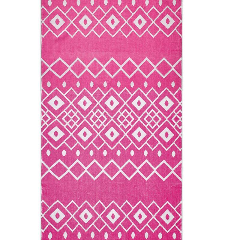 Πετσέτα Θαλάσσης 80X160 Kentia Loft Peru Ροζ