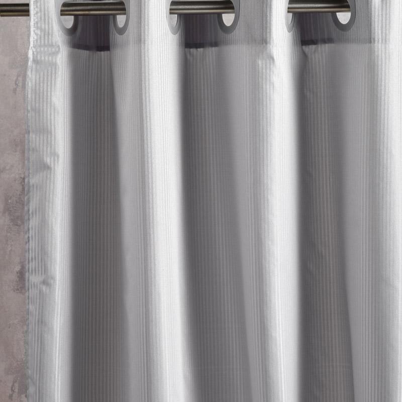 Κουρτίνα Μπάνιου 180X180 Kentia Loft Nippy 22 Γκρι