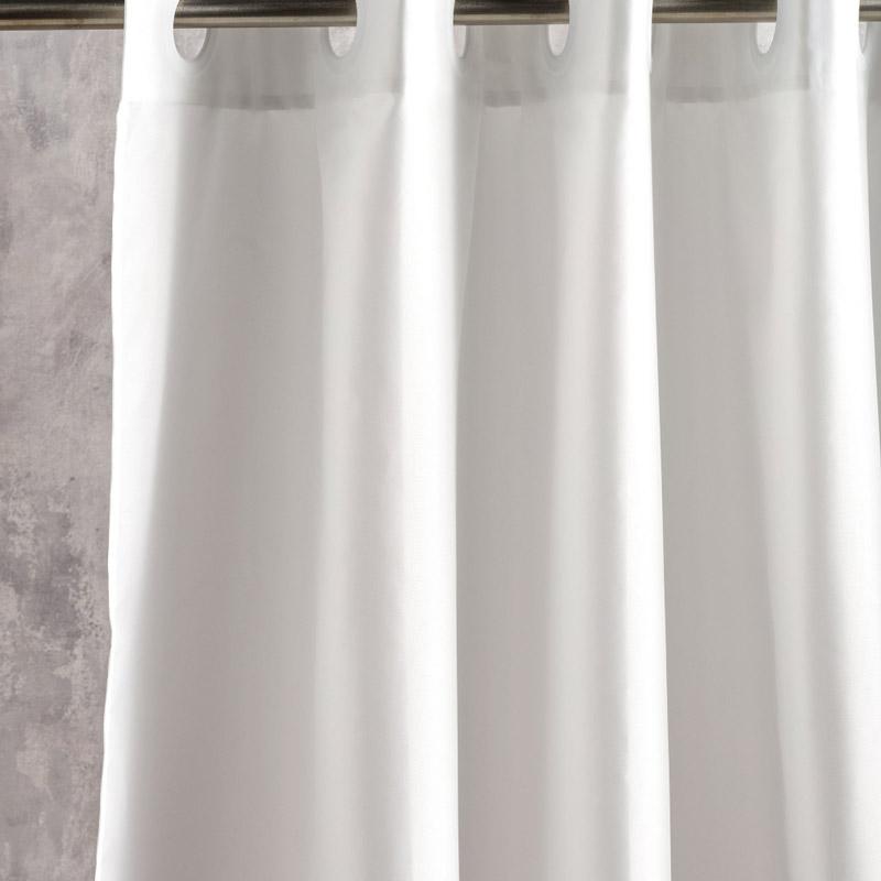 Κουρτίνα Μπάνιου 180X180 Kentia Loft Brisk 12 Λευκό