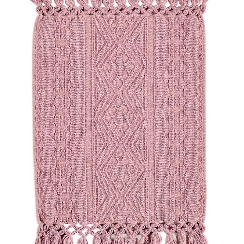 Πατάκι Μπάνιου 80X130 Kentia Loft Atlantic 14 Ροζ