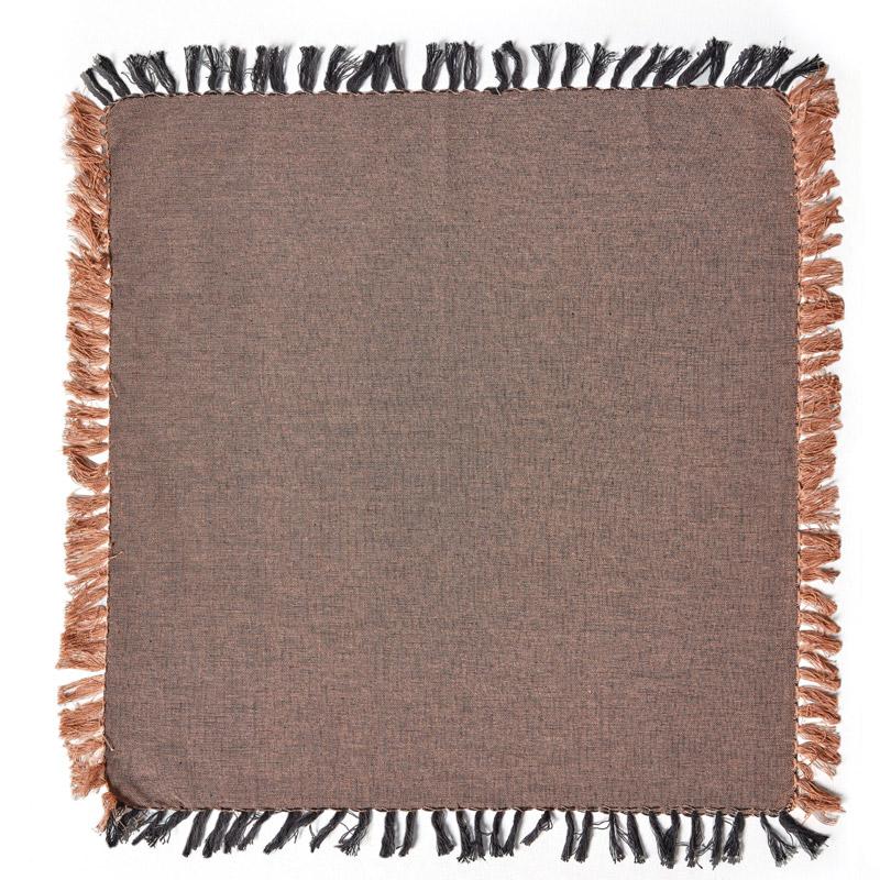 Πετσέτες Φαγητού (Σετ 4 Τμχ) 50X50 Kentia Loft Beluga 04 Κεραμιδί