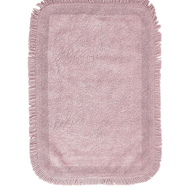 Πατάκι Μπάνιου 60X90 Kentia Loft Millennium 14 Ροζ