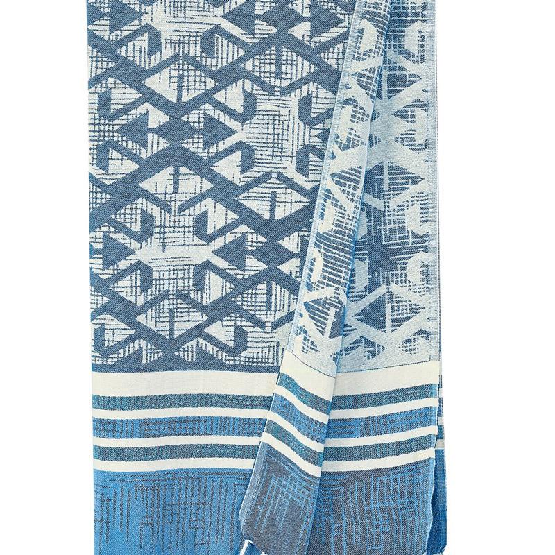 Πετσέτα-Παρεό 90X180 Kentia Stylish Ithaka Μπλε