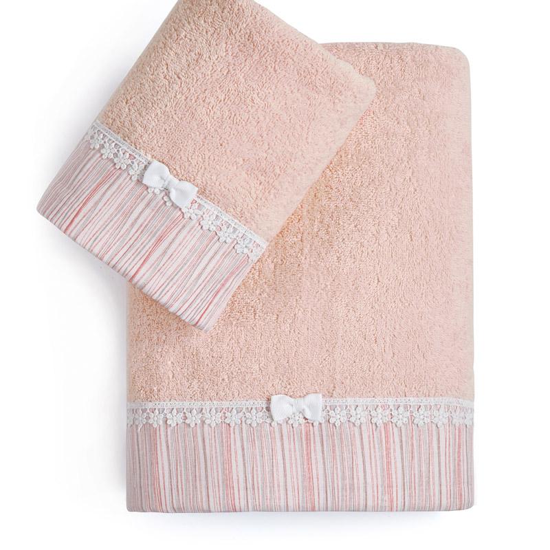 Βρεφικές Πετσέτες (Σετ 2 Τμχ) Kentia Loft Nadine Ροζ
