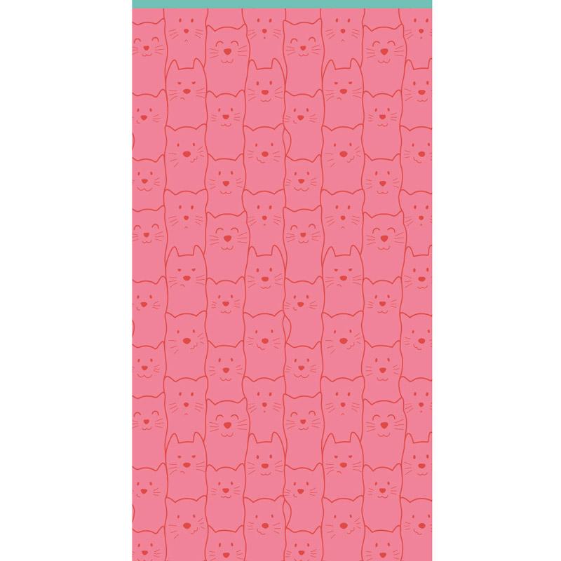 Πετσέτα Θαλάσσης 70X140 Kentia Loft Miau Ροζ
