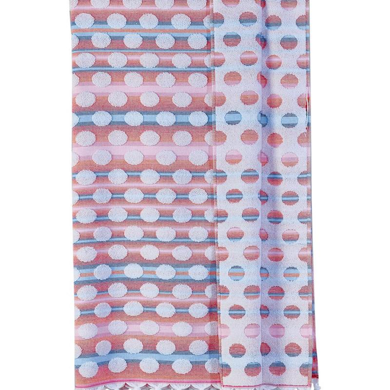 Πετσέτα-Παρεό 100X180 Kentia Stylish Nissyros Κόκκινο