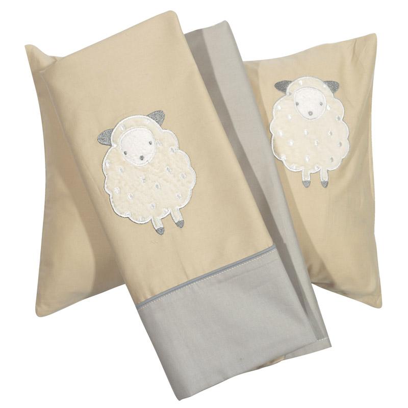 Σεντόνια Κούνιας (Σετ) 120X160 Das Home Smile Embroidery 6595 Χωρίς Λάστιχο