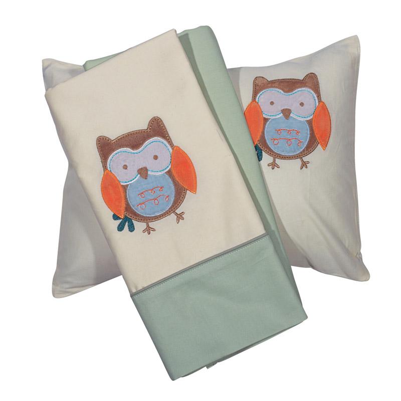 Σεντόνια Κούνιας (Σετ) 120X160 Das Home Smile Embroidery 6597 Χωρίς Λάστιχο