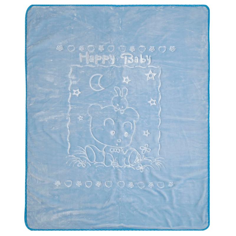 Κουβέρτα Βελουτέ Κούνιας 100X130 Kentia Loft Oz 19