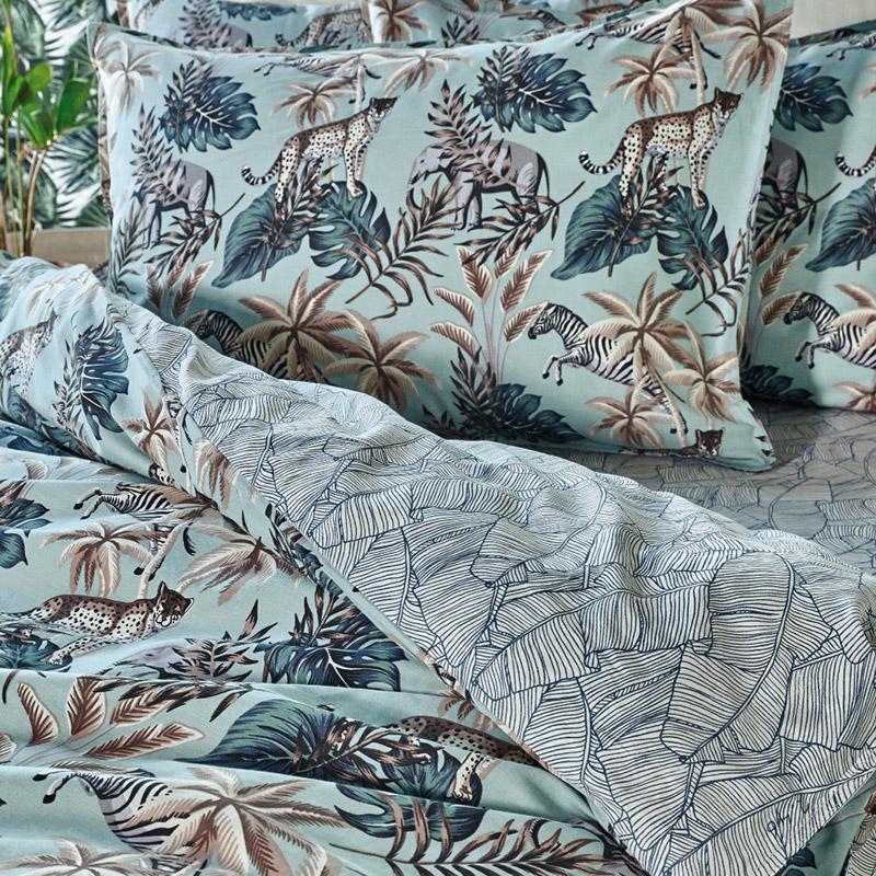 Μαξιλαροθήκες Oxford Ζεύγος 50X70 Kentia Stylish Sienna 10
