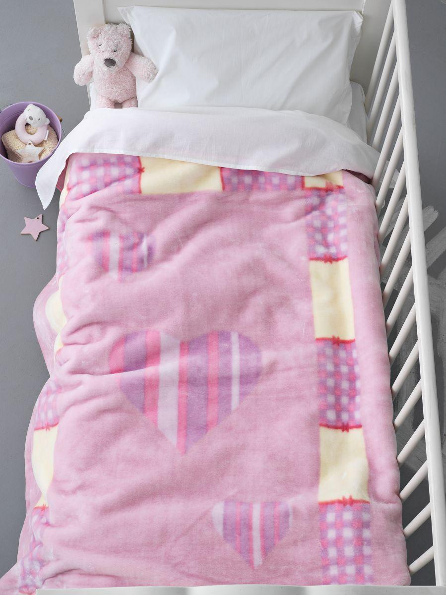 Κουβέρτα Βελουτέ Κούνιας 110×140 BV714 Palamaiki
