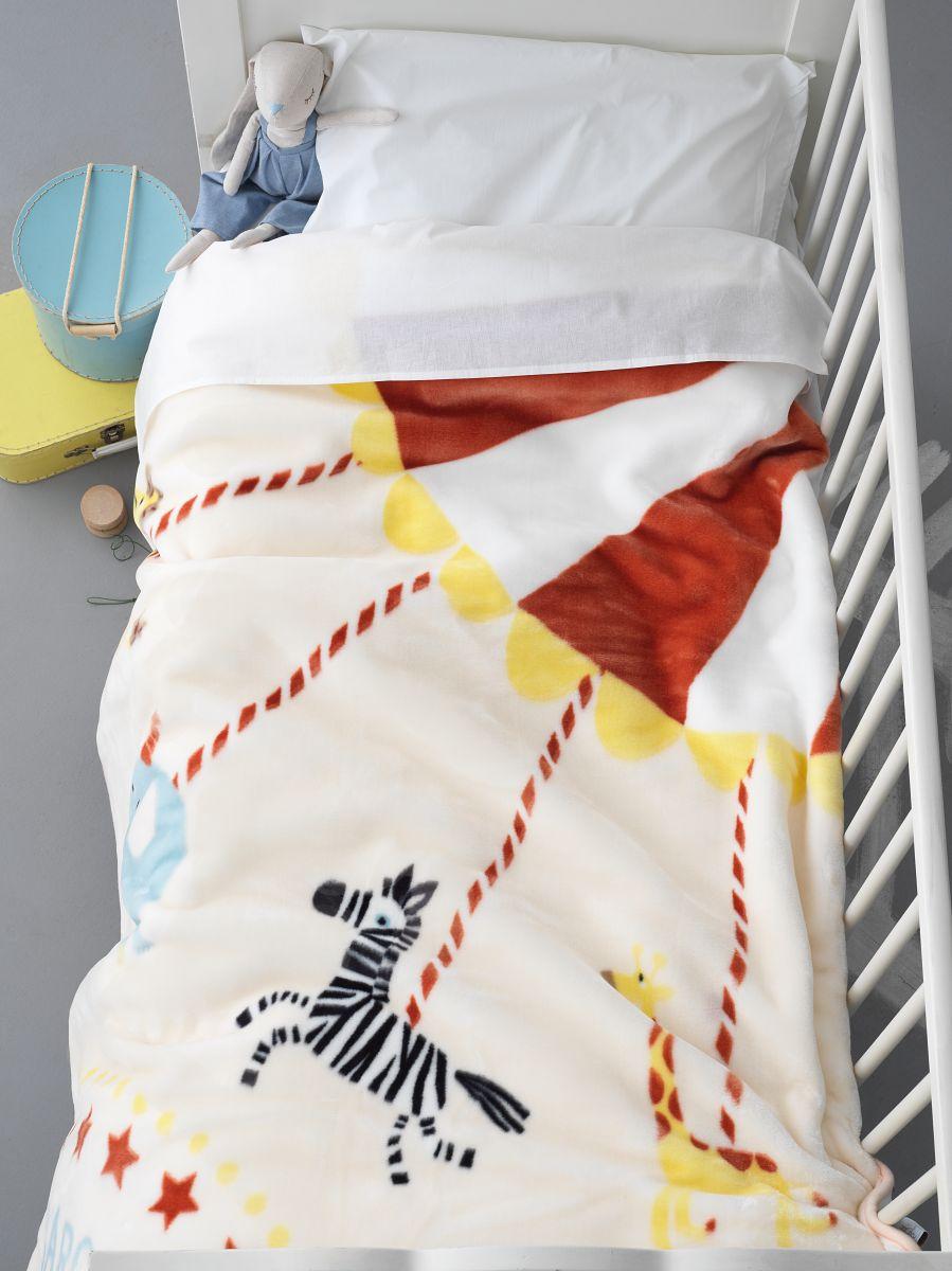 Κουβέρτα Βελουτέ Κούνιας 110×140 BV718 Palamaiki