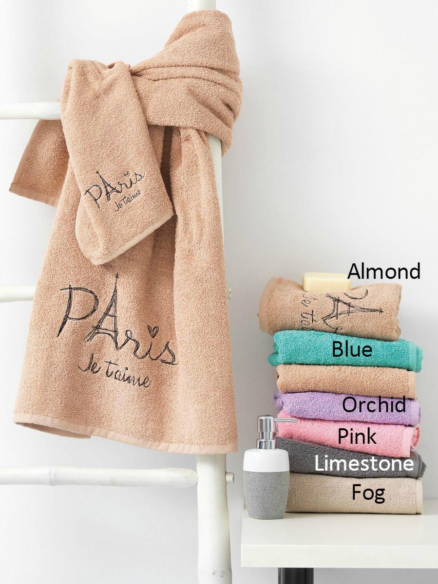 Πετσέτες Μπάνιου (Σετ 3τμχ) JETAIME Palamaiki Pink