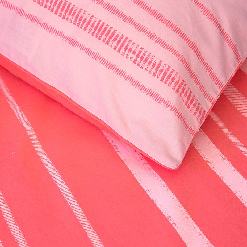 Σεντόνια Μονά (Σετ) 100X200+30 Kocoon Kilim Pink Με Λάστιχο
