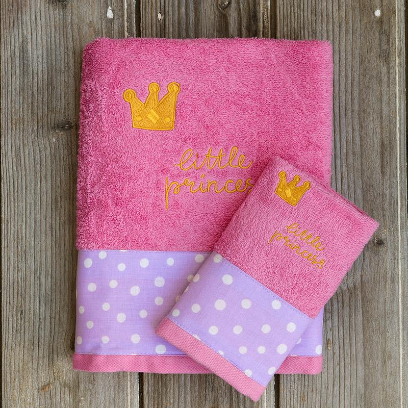 Παδικές Πετσέτες (Σετ 2 Τμχ) Kocoon Little Princess