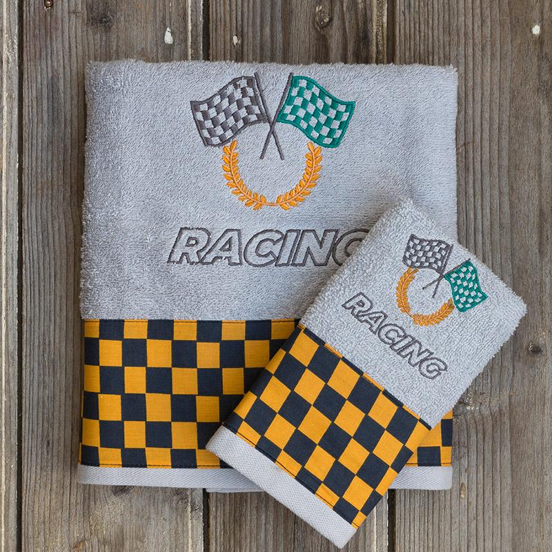 Παδικές Πετσέτες (Σετ 2 Τμχ) Kocoon Racing