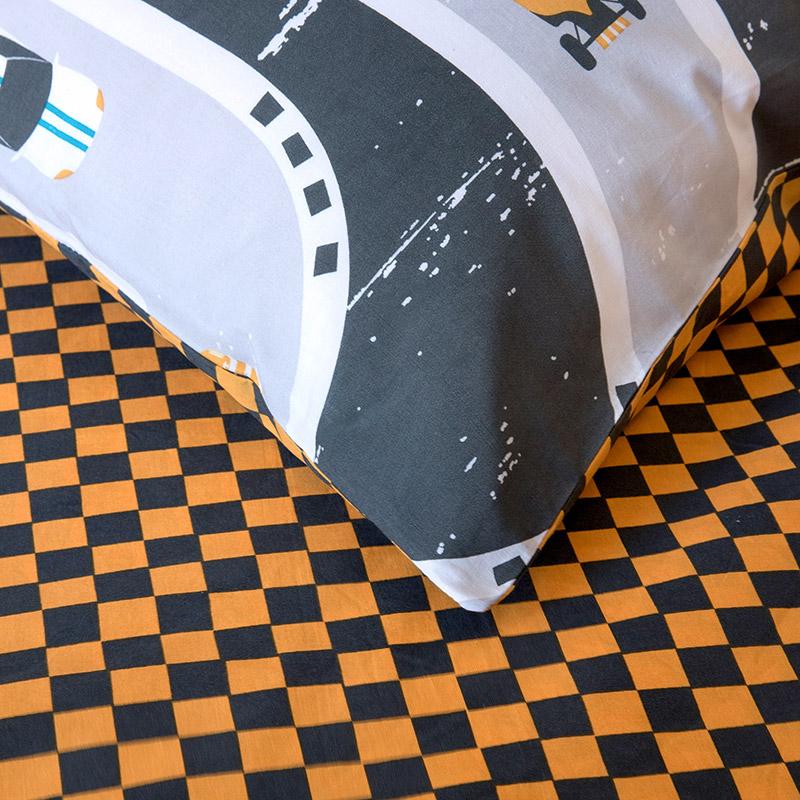 Σεντόνια Μονά (Σετ) 160X260 Kocoon Racing Χωρίς Λάστιχο
